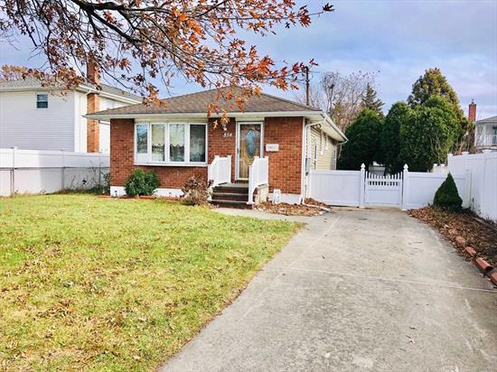 3 Bedroom, 1 Full Bath Charming and Airy Ranch, Very Spacious, Large Finished Basement, Newer Gas Boiler, Hardwood Floors Throughout, Great Spacious Yard, Near Schools, Shopping and Restaurants, Very Low Taxes That Haven't Been Grieved Since 2009, Convenient To All.