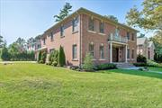 Newly Constructed All Brick Center hall colonial offers two story foyer leading to an open floor plan. Great Architectural details /Millwork throughout, generous-sized rooms for entertaining and everyday comfort. Huge Open Kitchen with High End Appliances like Sub Zero fridge, Wolf Cooktop, and two Bosch Dish Washers. Roslyn School. Port Washington Train Sticker.