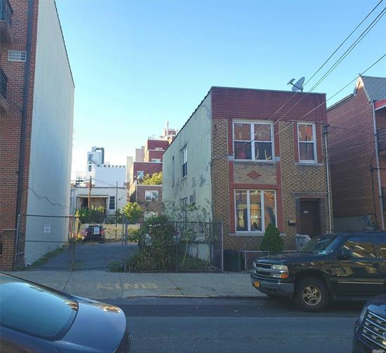 Excellent Property For Development In Prime Astoria Location!! Two Family Brick Detached with 8 Car Parking Lot Size : 41.42 ft x 85 ft 3, 520 Sqft R6B Zoning With FAR 2 7050 Sqft Buildable area Excellent Opportunity For a Builder to Build Luxury Condos or Rentals in Prime Astoria Location