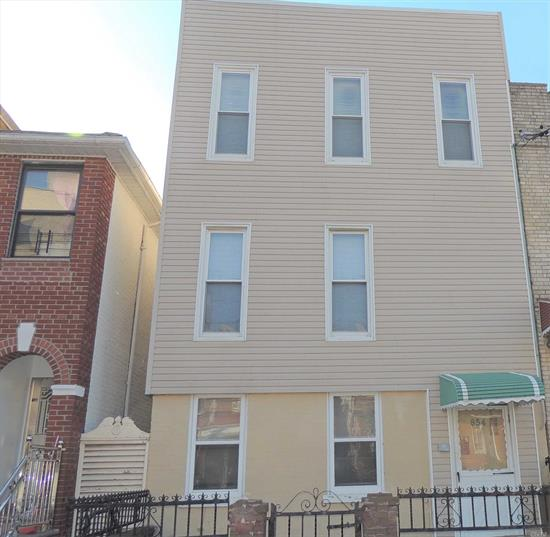 2 Family house in Prime Sunset Park. Sold as is. R6 Zoning can expand height and back. House needs total renovation. Great Investment opportunity. Near 8th Avenue Shopping and 4th Ave restaurants. 25 Min to Manhattan
