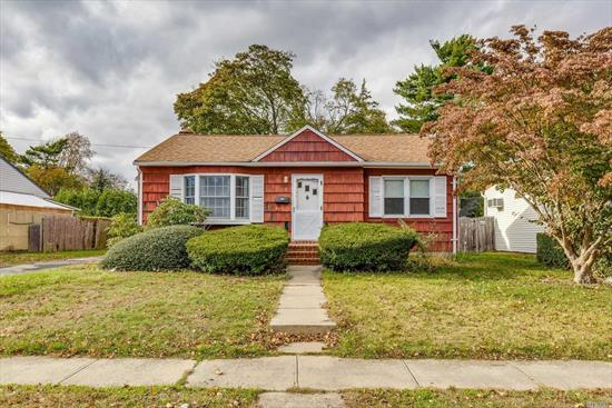Sunny Bright 3 Expanded Bedroom Ranch In Plainedge Schools. Hardwood Floors, Eik, Dining Room, Large Living Room Extension, Part Finished Basement. Updated Roof, Electric - (200 Amps), Deck For Entertaining/Quiet Yard. As Is