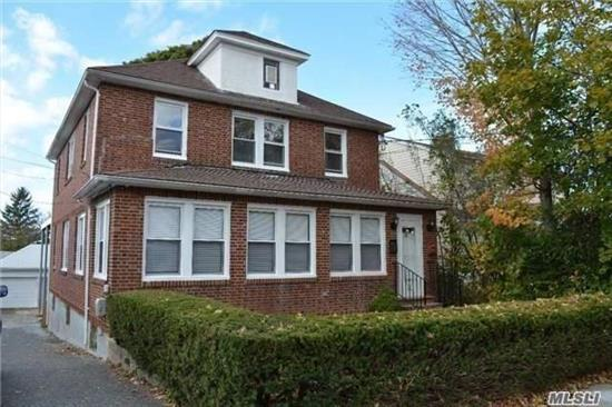 Recently Renovated!! Gourment Cooks Kitchen with stainless steel appliances and granite counter tops, new full bathroom, gleaming hardwood floors, formal entertaining dining room, living room, 2 bedrooms plus a small office, unfinished basement with laundry, back covered porch and use of 1 car garage and yard.