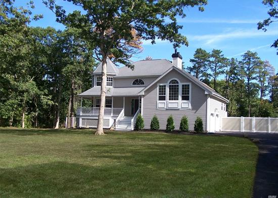 Spectacular Center Hall Colonial Set on 1.25 Acres Of Land Is An Absolute Must See. Totally Renovated Offers 5 Bedrms.3.5 Baths, Cust Kit W/Shaker Cabinets, Granite Counters, Pot Filler, SS Appl. Custom Bathrms, Raised Paneling, CAC, Wood Floors, Mstr Bedrm W/Ensuite. Huge Great Rm W/Vaulted Ceilings, Gorgeous Chrystal Light Fixtures, IGP Has New Liner & New Concrete Around Pool. New Double Tier Decking In Back. So Much More. Come See Your New Home.