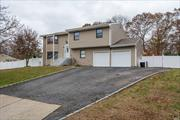 Newly Renovated, Pristine Condition and One of a kind Hi Ranch, Comsewogue School District!!! A Truly Gem, Huge Property Excellent For A Big Family with 2 Cars Garage W/Inside Entry, Central Ac, Wood Floor, Brand New Roof, You Won't Find Any Other House Like This One! This Is Your Dream Home, A Must See!
