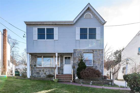 Beautiful Colonial with 1706 sq.ft living space. Offers 4 bedrooms and 3 full bath, finished basement,  Formal Dining room, Living Room, and huge backyard. Newly Renovated on 2018,  Ready to move in.