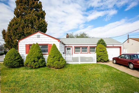 Move Right Into This Charming Updated Ranch Featuring New Flooring, New Bathroom, Updated Kitchen & Electric. Close To All, In The Heart Of Massapequa. Too Much To List, A Must See!!