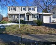 Colonial Style Home. This Home Features 4 Bedrooms, 2 Full Baths, Formal Dining Room, Eat In Kitchen & 1 Car Garage. Centrally Located To All. Don't Miss This Opportunity!