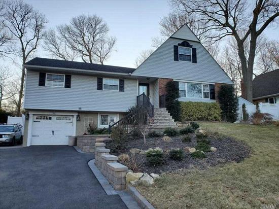Beautiful Farm ranch, gourmet country kitchen w/island, fireplace, harhwood floors, CAC, updated roof, siding windows, cesspools, electric, New stone walkway, large rooms, deck, fenced yard, new pool(gift), updated bathrooms, garage, oversized driveway...