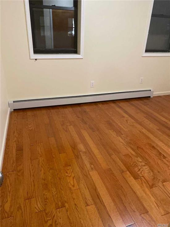 Updated 2 floor apartment with stainless appliances . Tenant pays for all utilities except electric . No pets allowed. Close to transportation.