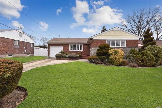 Welcome to this Wonderful Brick Ranch in the Heart of Elmont with Beautiful Private Landscaped Property. Mother/Daughter Possible with Permits. Great for All, Immaculate Move In Ready.