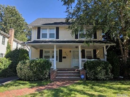Come See This Adorable Colonial With Great Curb Appeal! Featuring A Living Room With Fireplace Perfect For Entertaining, A Full Basement, Plenty Of Living Space, And A Spacious Back Yard! Located In The Rockville Centre School District Just Minutes From Rockville Links Club, Morgan Days Park, And All Your Shopping And Dining Needs!