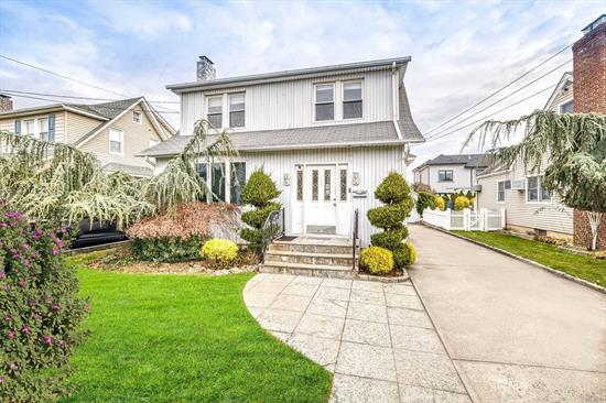 Open and Sunny Colonial with Large Entry Foyer. Living Room With Fireplace, Hardwood Floors, Finished Basement With Ose, CAC, Jacuzzi, 2 Hw Heaters, Mud Room. Low Taxes- Priced to Sell