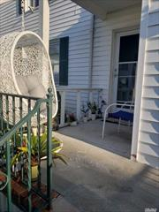 Sale may be subject to term & conditions of an offering plan.STAR PROG $95.15, FREE PARKING.SAY NO MORE AND SCHEDULED APPNT NOW! THIS IS THE BEST UNIT ON THE 1ST FL!ALL NEW.GREAT PAINTING, NEW F/BATH, NEW KITCHEN WITH NEW APPLIANCES. SEPARATE D/ROOM AND HUGE L/ROOM WITH COZY FIRE PL!BIG MASTER BEDROOM WITH 2 SEPARATE CLOSETS(fits King Size bed with nightstands). WOOD FLOORS.ALSO YOU OWN PRIVATE ENTRANCE WITH TERRACE(fits 3 chairs)!CLOSE TO HWYS , BUS, STORES...