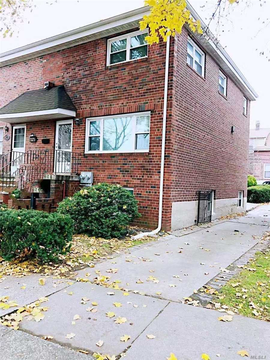 East Elmhurst 2-family semi-detached brick house on 2600 Sf lot. Well maintained by owner with new boiler & new meters. Located near Astoria and Ditmars Blvd. Bus stops: Q9/47/69. Grand Central Parkway.
