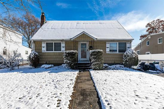 Excellent opportunity to make this charming cape your own! Features 3 beds/1 bath plus 2nd level bonus room, full basement and fully fenced yard. Close proximity to major roadways and just 60 minutes to Midtown Manhattan via LIRR. Levittown Public School District. Home sold as-is.