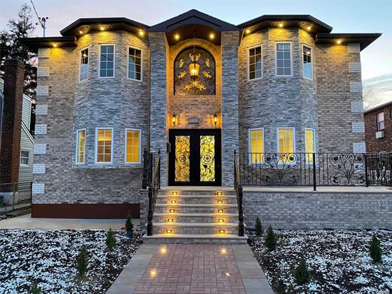 This is a Custom-Built Masterpiece with Amazing Architecture and Custom Finish at its finest! 4 Bedrooms and 2 Bathrooms over 4 Bedrooms and 2 Bathrooms. Full-Finished Basement with Bath and Recreation Room. Full Central Air! Sits on a large 60x100 Lot!