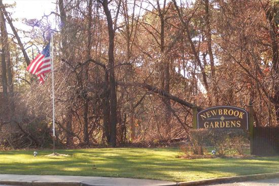 Completely Renovated Upper Unit In Private Wooded Location. Why Rent When You Can Own!! Entry To Large Living Room W/Dining Area, Vinyl Floors/carpet, New Doors, New Paint, New Bathroom Fixtures, new kitchen with stainless appliances, Tile & Vanity. Large BR W/Ample Closets & Den/2nd Br. Taxes, Heat, water & Cooking Included In Maintenance Charge.