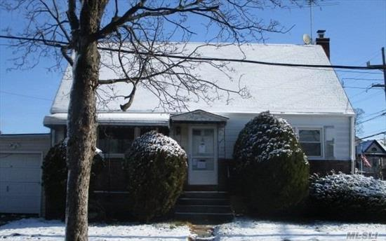 Great starter home with spacious yard. Located in a quiet residential neighborhood convenient to all. 4 bedroom cape with open basement.