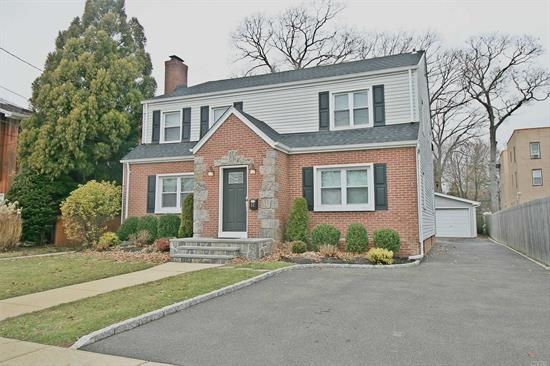 Unique opportunity to own a fully updated two family in vibrant Merrick! Close to LIRR & tons of eateries. Huge driveway, huge two car detached garage, stainless steel appliances, granite/quartz countertops, updated contemporary baths, huge finished basement, 2019 roof, 2017/2019 boilers, basement with OSE, 200 amp service, hardwood floors, and so much more! One of the most impeccably maintained homes you'll ever see! Earn rental income and live tax free. Owner financing available!