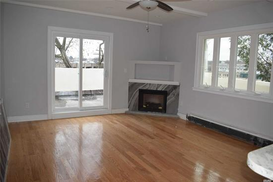 Like Sponser unit!!! Investor Welcome, Great Neck Plaza, Totally Gut Renovated, 1 Besroom, With Balcony, EIK, Fireplace, Moulding, Brand New Floors, Sunny & Bright Unit, 2 Short Blocks to LIRR, Shopping & Town. Located on Tree Lined Residential street. PreWar building with nice courtyard. Great Neck South or North Schools, Stained floors, Stainless Steel appliances, Everything New! New windows, New light fixtures. Minicipal Parking Is Next to it.
