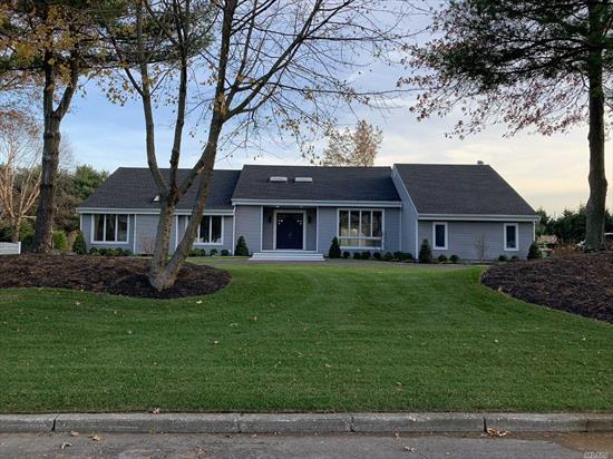 Over 5000 SF totally renovated, 5/6 bedrooms, 4.5 baths. Stunning Kitchen with island & stainless appliances, formal LR /FR w/ fireplace, elaborate formal dining rm, crown molding, coffer ceiling, master bedroom w/ walk in closet & breathtaking en-suite bath with large shower and soaking tub, hardwood floors thru out. Enormous finished walk out basement, possible mother daughter/ home office/ guest suite. Impressive loft above 2 car garage. 3 Zone HVAC system. New roofing/ siding/ driveway