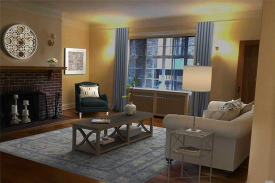 mint 2br apt in the famous Tudor Bldg of Douglaston. This building does not have an elevator... apt on 1 st floor.... , close to shops and LIRR.... easy street parking... Board approval required $400 application fee....