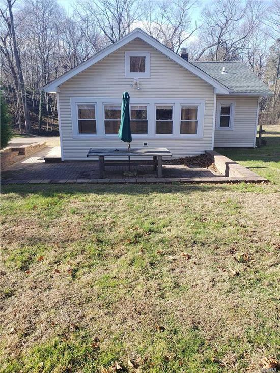 Beautiful 3 Br cottage in Poquott. Close to Harbor. There are 2 other cottages on the property
