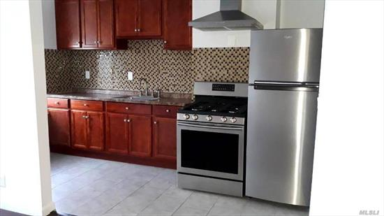 Newly Renovated Apartment For Rent In The Great Neighborhood Of Glendale. This Unit Features 2 Bedrooms W/ Lots Of Natural Sunlight, Living Room, Dining Room, Eat In Kitchen with Stainless Steal Appliances, Upgraded Flooring And Captivating Modern Finishes To The Bathroom. Heat & Water Included. Close to all shops and transportation Q55 And MQ24 & MQ25.
