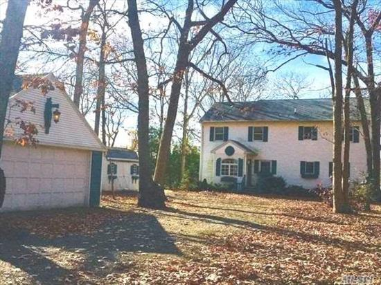 Living is Easy by the Lake. This 3 bedroom Cape is waiting for your personal touch. Water views abound from the living room, sun room, master bedroom and second floor family room, decks and balcony. Added bonus is the bay beach at the end of the lane. Minutes to the Maritime Village of Greenport offering fine dining, quaint shops and Harbor Front Carousel. Close to wineries, ferries, LRR and Hampton Jitney.