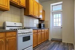 Freshly Painted 3 Bedroom Apartment for Rent in Ridgewood. Features Sunny Living Room, Kitchen with Balcony, Newly Renovated Bathroom, and Home Office. Hardwood Flooring Throughout. Heat and Water Included. Conveniently Located Near M, L Train, Q58,Q55 Bus, and Shops.