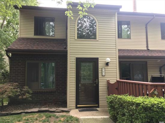 Move right into this large condo. Newer kitchen w/SS appliances and granite, new heating/AC unit, lots of closets, den w/fireplace.