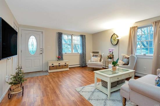 Delightful Colonial with Large Rooms, Updated kitchen and baths, Very private back property.