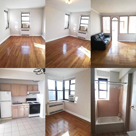 Lovely 2 Bedroom Apartment for Rent in Forest Hills. Features Living Room, Kitchen, and 1 Full Bathroom. Hardwood Flooring Throughout and Tiled Kitchen. Heat and Water is Included. Convenient to Transportation and Shopping. Nearby Buses: Q60, QM11, QM12, QM18, QM42