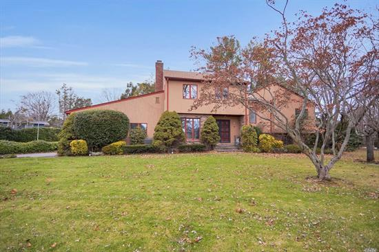 A custom built, multi-level, single family 5 bed/3.5 bath home that is nestled on a picturesque block in Glen Cove. This home sits on a half acre of land and offers an open floor plan allowing the perfect opportunity to entertain. The state of the art chefs kitchen has a seamless flow onto the outdoor cedar deck. A Spacious den, two wood-burning fireplaces, king-sized master suite. The roof is 9 months old, the boiler is on a 35 year maintenance contract and the oil-tank is 5 years old.