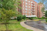 YOU WILL LOVE LIVING HERE! Bay Terrace Corner 2 BR, 2 bath unit with Large Entry Foyer, Eat in Kitchen, Large Living Room With Access to Terrace. Parking Space Included. This Sought After Complex Is Equipped With a Gym (must join), Two Tennis Courts, Playground and Picnic Area.  Nearby Shops, Schools, Restaurants and Transportation. Express Bus into NYC Just Across the Street.