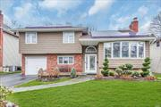 Beautiful 4 level 3 bdrm 2 bath move-in condition Old Britton split! Living Rm w/gas fireplace. Updated Vaulted kitchen w/skylights, updated bath, Roof - approx 7 yrs, Electric, Approx 3 yrs, Heating system 2007, Siding 2019, pool heater, heat pump, 6yrs, liner approx. 4 yrs. Windows & sliders approx. 4 yrs. hardwood floors, CAC, IGS, Isolar panels, Full basement. Beautifully landscaped. Won't Last