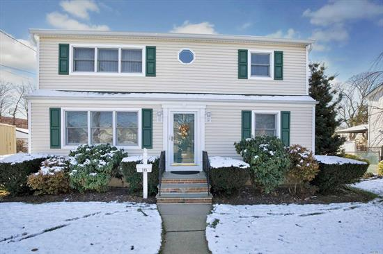 LEGAL 2 BY PERMIT! 4BR, 2Bth Exp Cape w/updated roof, siding, baths, HW Heater, Updated 200 amp elec, rebuilt side & front steps. Oversized 1.5 car detached garage w/elec. & covered patio.