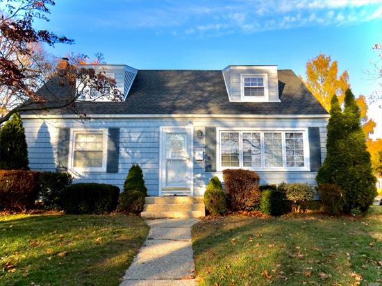 Just in time for the holidays, come make this appealing 4 bedroom, 2 bath, cape yours. Home features rear dormer, new front roof, new furnace, refinished hardwood floors, fresh paint all on over-sized corner property. Don't miss this one!
