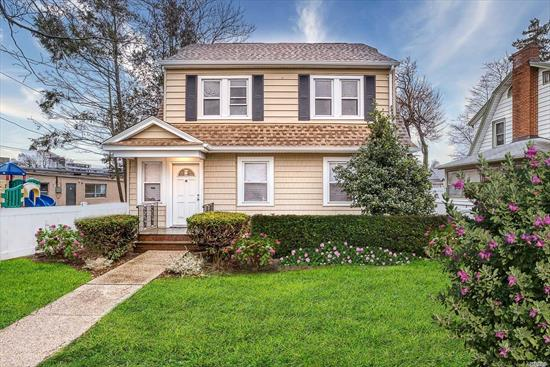 Diamond !!! Fully Renovated 5 Bedrooms Colonial,  Wood floors throughout, Open Floor Plan,  Updated kitchen has all new stainless steel appliances, Central Air Throughout, Full Basement and a Large Loft. Much Much More !! A MUST SEE !!!