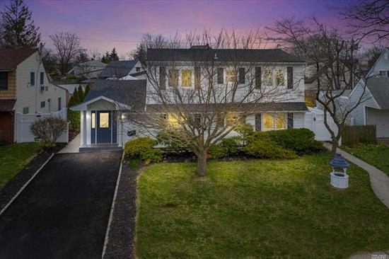 Beautiful Cape Cod completely renovated in 2019 nestled in Levittown. 4 bedrooms, 2 baths. Move-in-ready! Enter to your new home, Wood floors throughout, large eat-in-kitchen with farmhouse sink, stainless steel appliances, wood cabinetry, spacious living room, bedrooms and large backyard. Won't last!!!