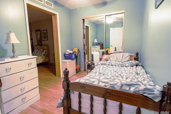 Newly renovated 3BR apartment on 1st floor, Close to all, 1 bock off of Metropolitan Avenue, close to public transportation, Quiet area, refrigerator, stove Dishwasher included. Small Pets allowed