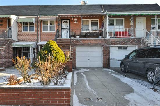 Winter Special. First Time on the Market in 20 Years! This Brick 2 Family Home Features 4 Bedrooms, 3 Full Bathrooms, Spacious Living rooms, Renovated Kitchens, Full Finished Basement with Separate Entrance. Beautiful All Fenced Private Backyard. Private Driveway and 1 Car Garage. Prime Location. Walk to Shopping Mall, Transportation, Schools, Parks and More!