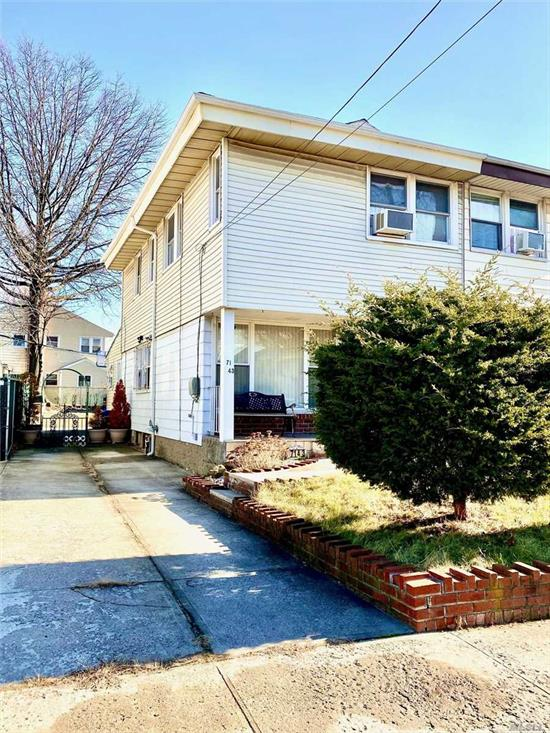 Beautifully Renvovated colonial in very convenient neighborhood. Huge living room and dining room. New modern kitchen. Walk-to #65 bus to Flushing, #64 bus to Forest Hills subways station. Close to Union Turnpike local and express bus stops to Manhattan.