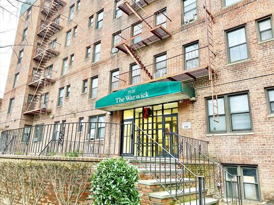 Own for less than your rent with this incredibly low maintenance Studio in Forest Hills! This ideal unit is situated in an Elevator building with Laundry Room and Live-In Super. It is conveniently located near Queens Blvd & Transportation. Subletting Allowed. Waitlist for Parking.