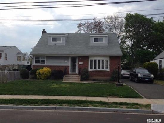 Newly Painted Move right into to immaculate space-includes shed for storage + half/one large room in basement perfect for family/TV room, Tenant has front and back door entrance. Tenant pays own Gas heat/hw and electric