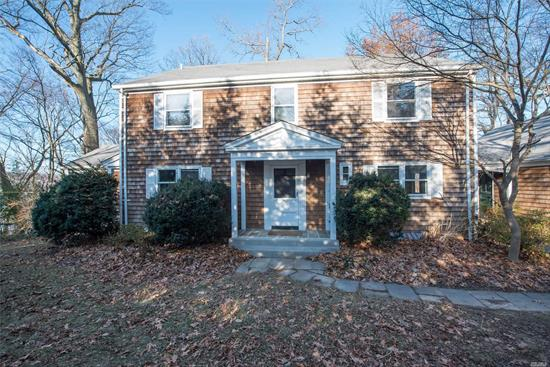 Charming Center Hall Colonial with almost 360 degree panoramic water views. Large bright rooms, Hardwood floors throughout, 5 Bedroom, 3.5 Bath....Perched High above on 1.55 Acres with spectacular unobstructed water views. It is a must see!
