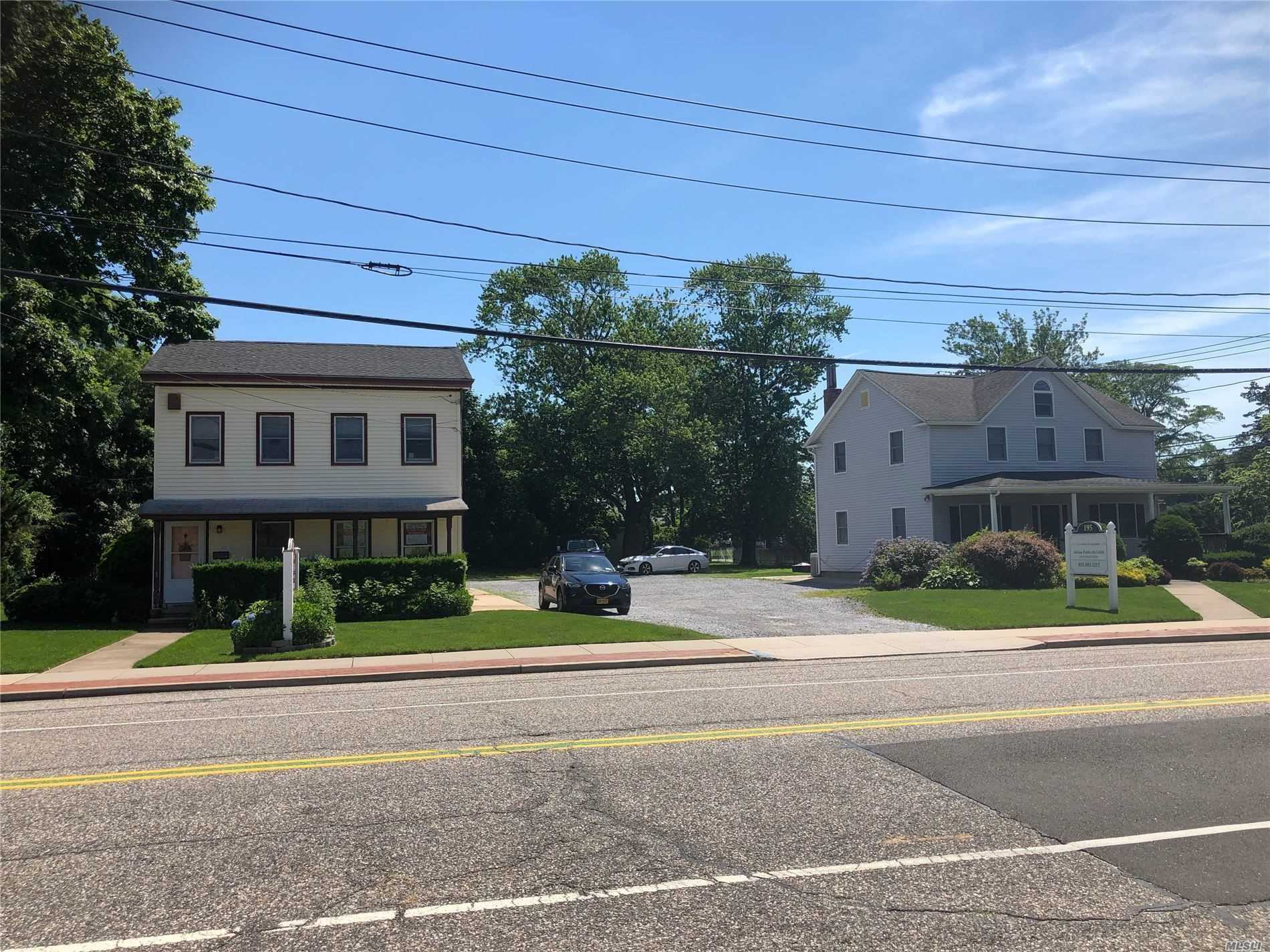 2 Properties, Must be sold together. Home 195 is in Floor Description Above. Home 199 Floor Description: 1st Floor: Entry Foyer, Handicap Bath, Other, 2 Bedrooms 2nd Floor: Eat in Kitchen, Living Rm, 1 Bedroom, Full Bath. Taxes for 199 are $11, 745.52