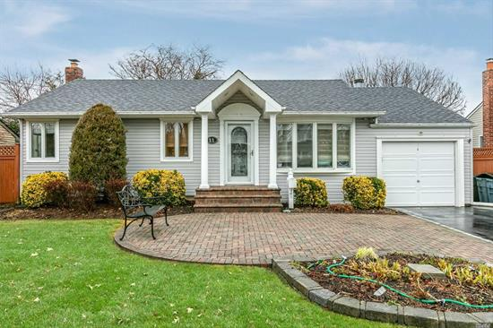 You'll love this beautifully maintained, expanded and updated 4 Bedroom Ranch. Enjoy entertaining in the Great Room Addition with 12' vaulted ceiling or sitting by the warmth of the wood burning fireplace. The kitchen renovation includes granite counters, SS appliances, plenty of cabinets for storage, and open to the Great Room. At the end of the day, relax in your own Expanded Master Bedroom En-suite with vaulted ceiling, Walk In Closet and Master Bathroom. Backyard Pergola and Pool.