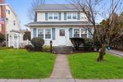 Charming Colonial Style Home in the Heart of Lynbrook, Close to Public Transportation, LIRR (35 min away from Penn Station), Shopping and Dining, in Lynbrook School District 20. Large Entry Foyer/Enclosed Porch, Living Room, Banquet Sized Dining Room, Large Eat in Kitchen, Half Bathroom. Upstairs Features Large Master Bedroom, Full Bathroom, and 2 More Nice sized Bedrooms. Low Taxes!!!
