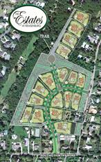 Last of its kind. Only two lots left in the Hamlets premier subdivision.  Build to suit available.
